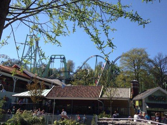 Lisebergs Nojespark: Vy från kaninlandet!