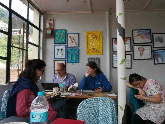 Chhaya Cafe: also has Wifi