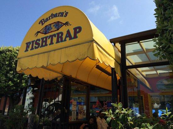 Barbara's Fishtrap : restaurant entrance