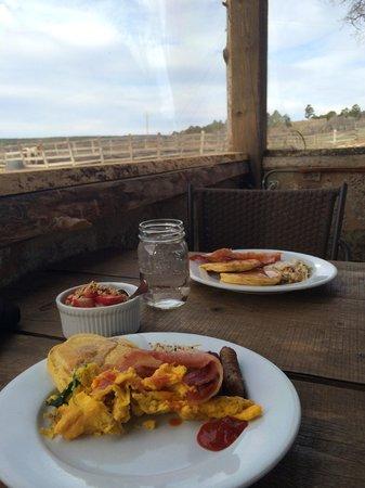 Zion Mountain Ranch: The Buffalo Grill- Breakfast Buffet