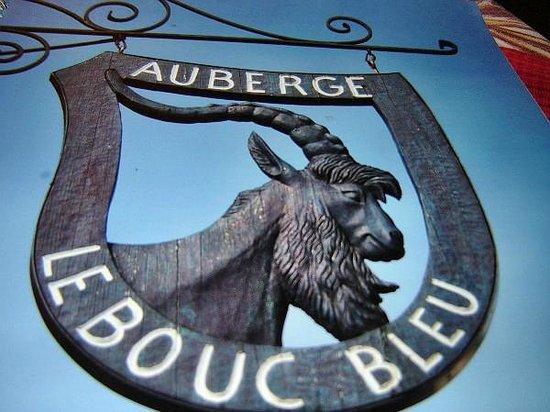 Auberge Le Bouc Bleu : Enseigne à découvrir ou mémoriser!