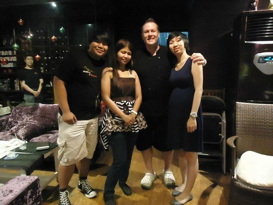 Scott and Binh's: Us and Scott and his wife :)