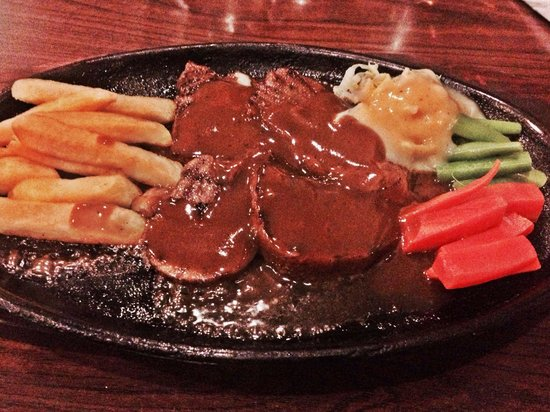Boncafe Pregolan : ox tongue steak