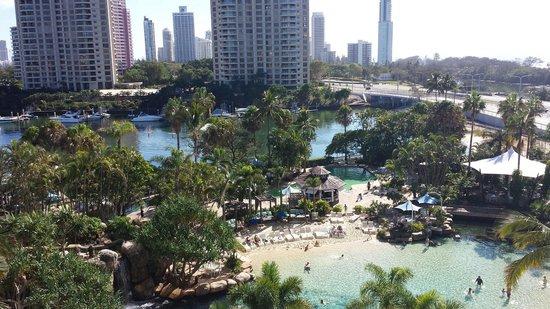 Surfers Paradise Marriott Resort & Spa: Awsome view