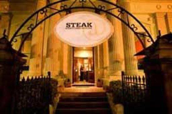 Custom Steak House: A beautiful old building