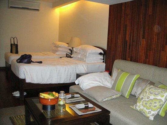 The Tongsai Bay : beds
