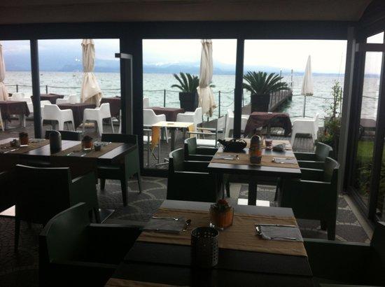 Hotel Aurora: Breakfast area