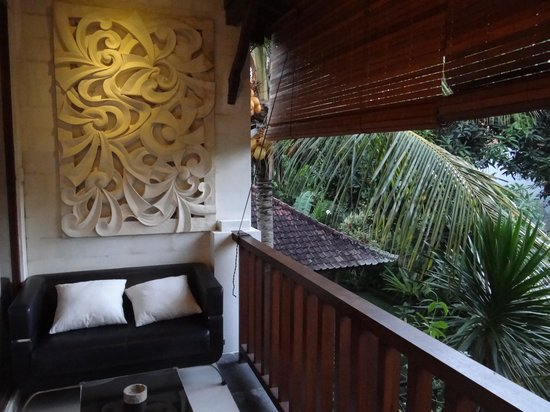 Lumbung Sari Cottages: Our verandah