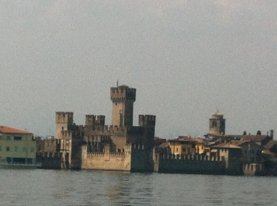 Rocca Scaligera di Sirmione: View from the lake