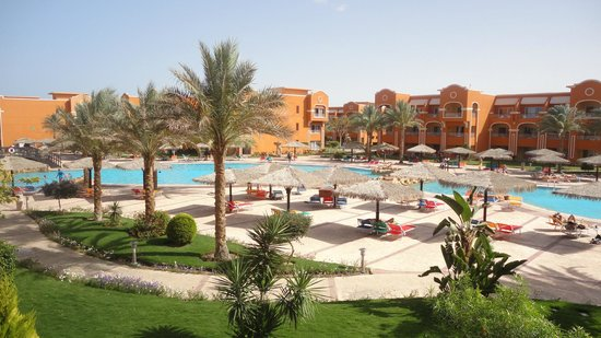 Caribbean World Resorts Soma Bay : المنظر من الغرفة