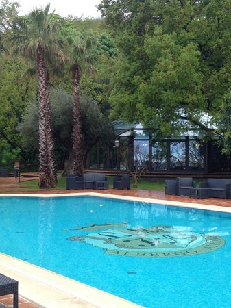 Airone Wellness Hotel: Vue direct sur la piscine