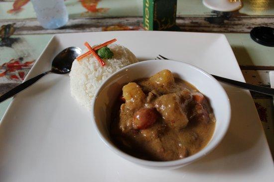 Phranakorn-Nornlen Hotel: Massamancurry - Einfach nur ein Traum!