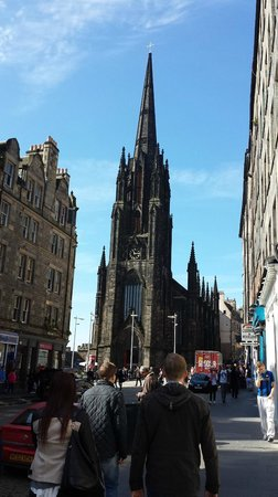 Milla Real: Royal Mile, Edinburgh