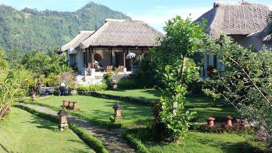 Surya Shanti Villa : Die Anlage
