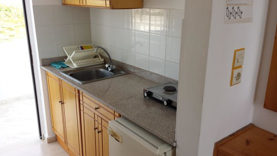 Pantheon Apartments: Kitchen Area