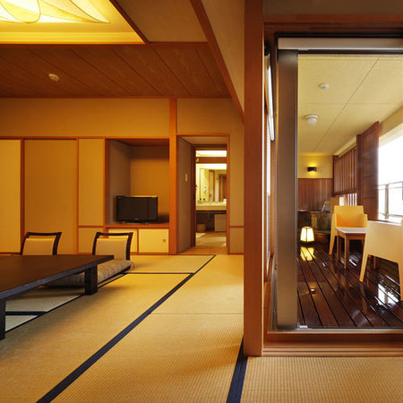 Senami Grand Hotel Haginoya: 露天風呂付客室【風美亭】和の趣と露天風呂が融合した客室
