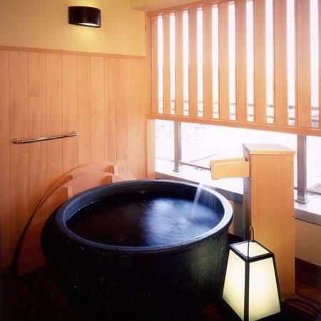 Senami Grand Hotel Haginoya: 露天風呂付客室【風美亭】の露天風呂
