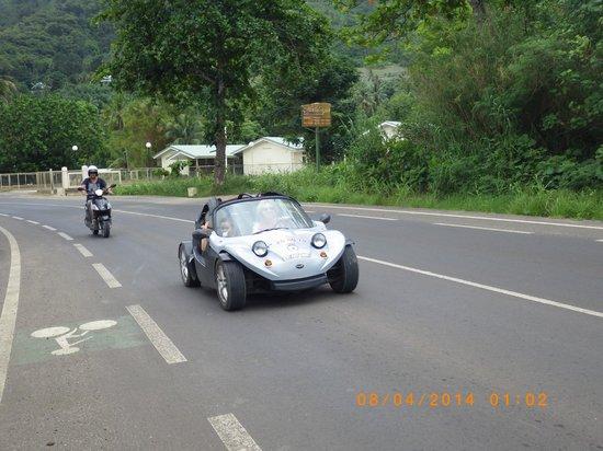 Moorea Fun Roadster : Visite de Moorea en roadster