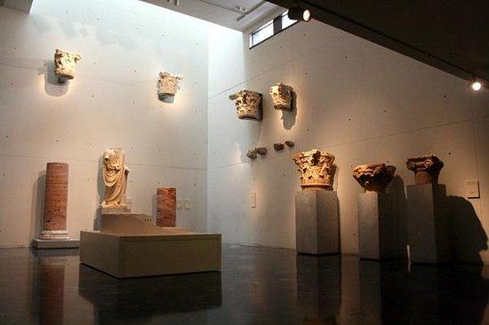 Teatro Romano: Artefacts in the museum