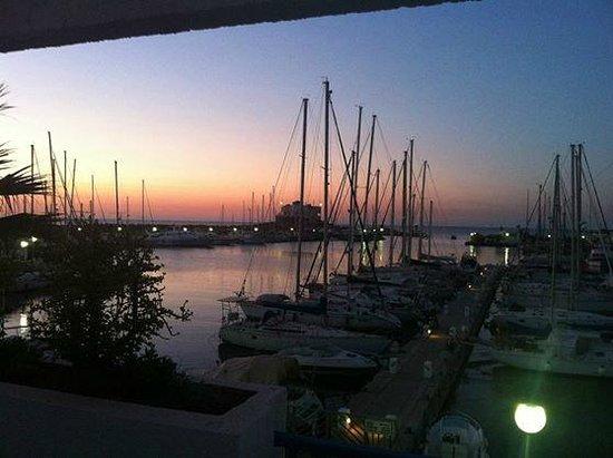 Marina Cap Monastir Aparthotel: nice view in everning
