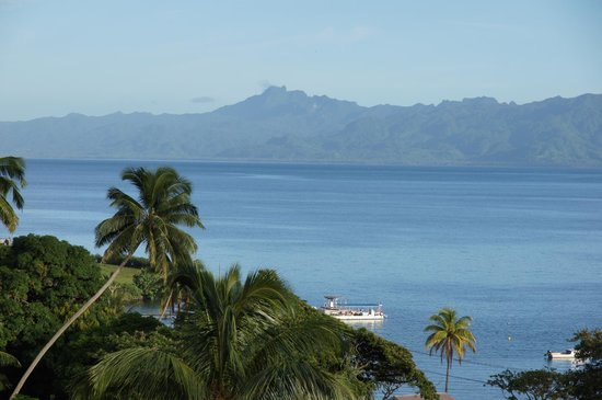 Savusavu Hot Springs Hotel: Great view