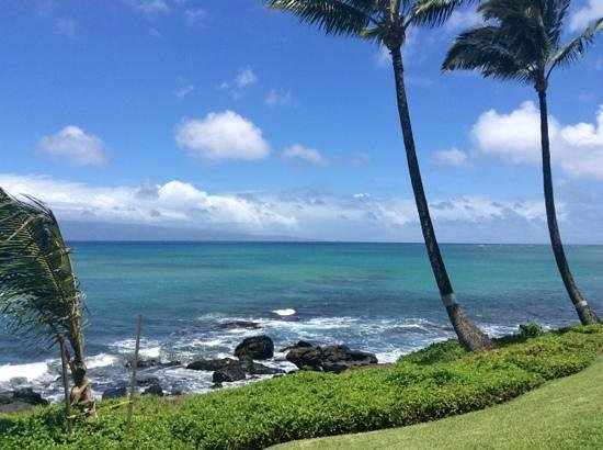 Noelani Condominium Resort : view from our lanai