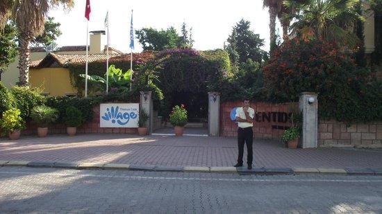 SENTIDO Sultan Beldibi : Entrée