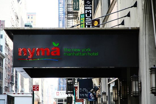 nyma, the New York Manhattan Hotel: Außenansicht