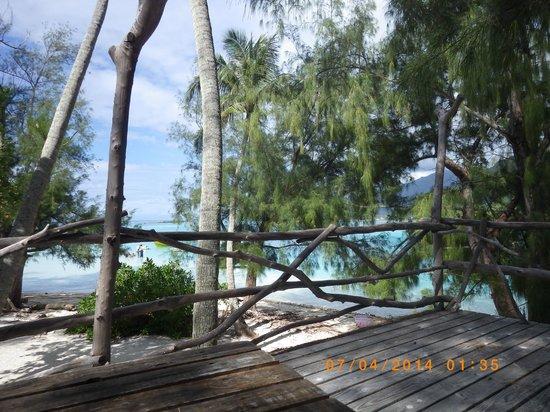 Coco beach : Vue terrasse