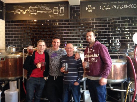 Brewhouse & Kitchen - Portsmouth: Brewery experience. Great day out!