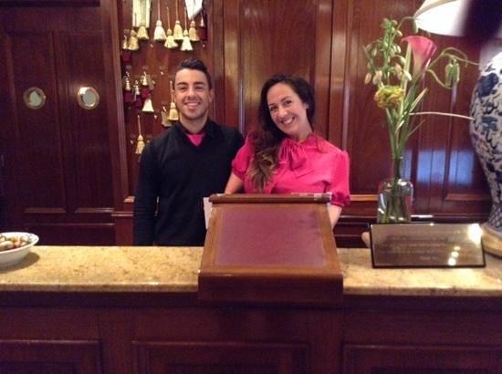 Hotel Estherea : wonderful staff