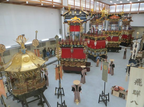 Takayama Festival Floats Exhibition Hall: Takayama Festival Floats Exhibition