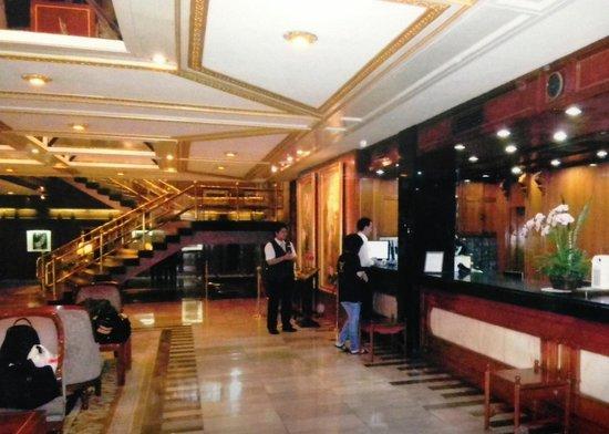 The Tawana Bangkok : Lobby.ロビー!