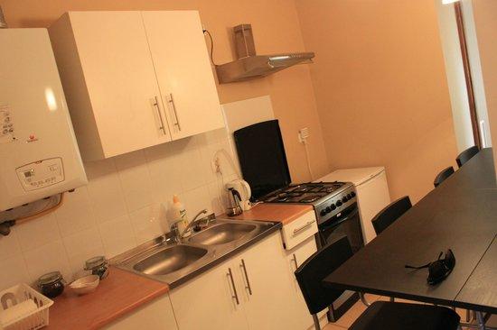 Nobel Suites : Kitchen