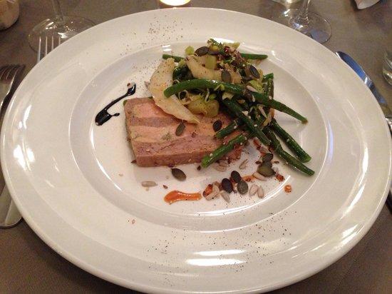 La Cuiller à Pot : Entrée presse de viande + foie gras