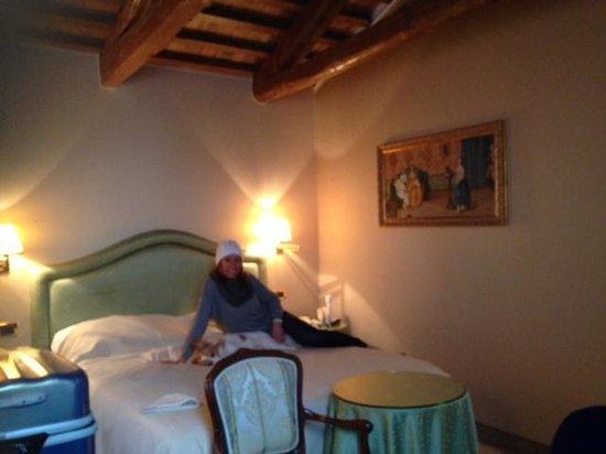 Hotel Colombina: Piccola romantica suite all'ultimo piano