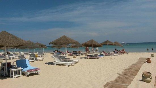 Le Marabout Hotel : wirklich toller Strandbereich