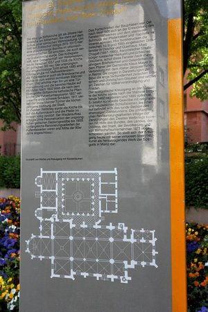 St. Stephan's Church (Stephanskirche): Info Grundriss