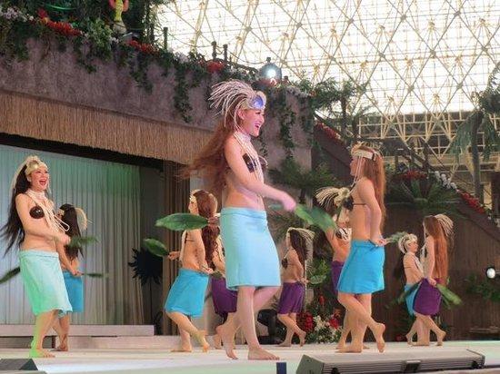 Spa Resort Hawaiians: フラダンスショー1