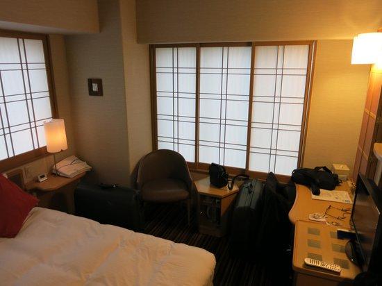Pearl Hotel Yaesu: 14m2 Zimmer