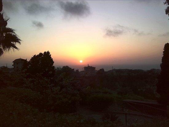 Agriturismo Ruralia: tramonto