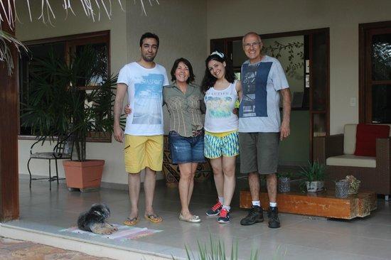 Pousada Surucua 's hosts