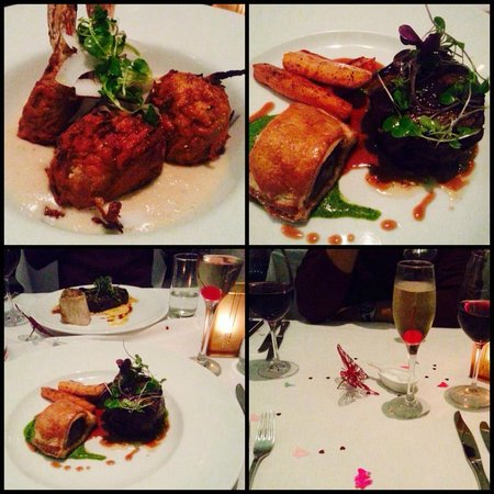 Pullman Auckland: Great food: King Prawn, beef tenderloin