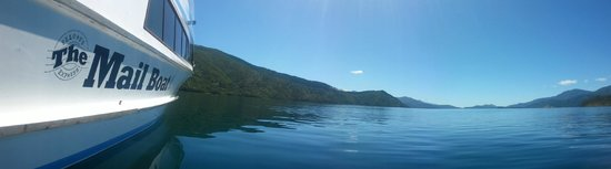 Pelorus Mail Boat: See the real Marlborough Sounds on www.themailboat.co.nz