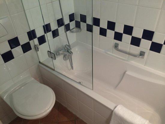 Novotel Cannes Montfleury: Vue de la salle de bains