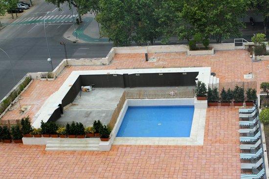 Melia Sevilla: Travaux piscine
