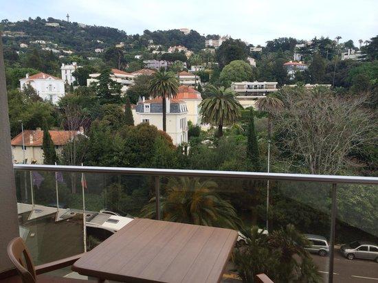 Novotel Cannes Montfleury: Le balcon