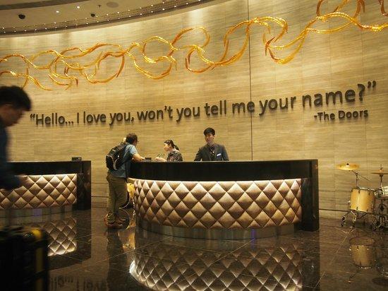 Hard Rock Hotel Macau : receptions area