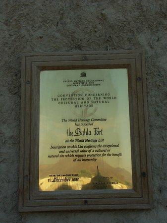 Bahla Fort: patrimonio dell'Unesco