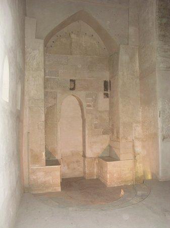 Bahla Fort: interno del forte